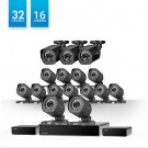 Zmodo 32 Channel Network NVR System 16 IP HD Surveillance Camera System w/ sPoE Repeater