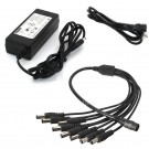 8 Port 12V 5A DC Power Adapter for Surveillance Cameras