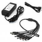 8 Port 12V 5A DC Power Adapter for Surveillance Cameras