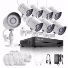 Funlux 1080p 8CH HDMI NVR w/ 8 720p IP Camera Home Security System