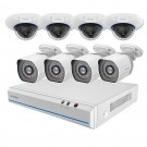 Zmodo 8 Channel 720p NVR Security System & 8 HD IP Cameras with Night Vision
