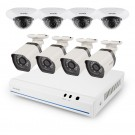 Zmodo 8 Channel 720p NVR system with 8 HD Indoor/Outdoor  Cameras & 1TB HDD  (2nd Gen, with micro USB male end)