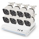 Zmodo 8 Channel 720p NVR system with 8 HD IP Cameras &1TB HDD (Renewed 90-day warranty)