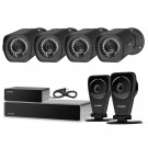 1080p 8CH sPoE NVR with 1 repeater & 4 cameras & 1TB HDD & 2 EZCam